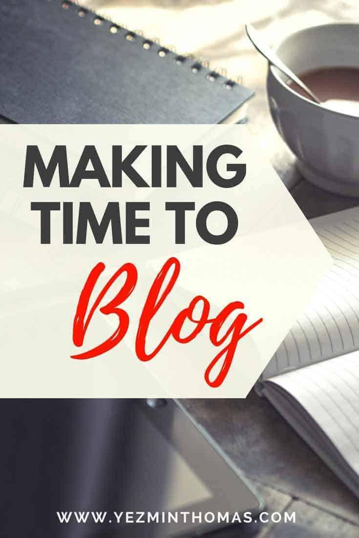 Making-time-to-blog