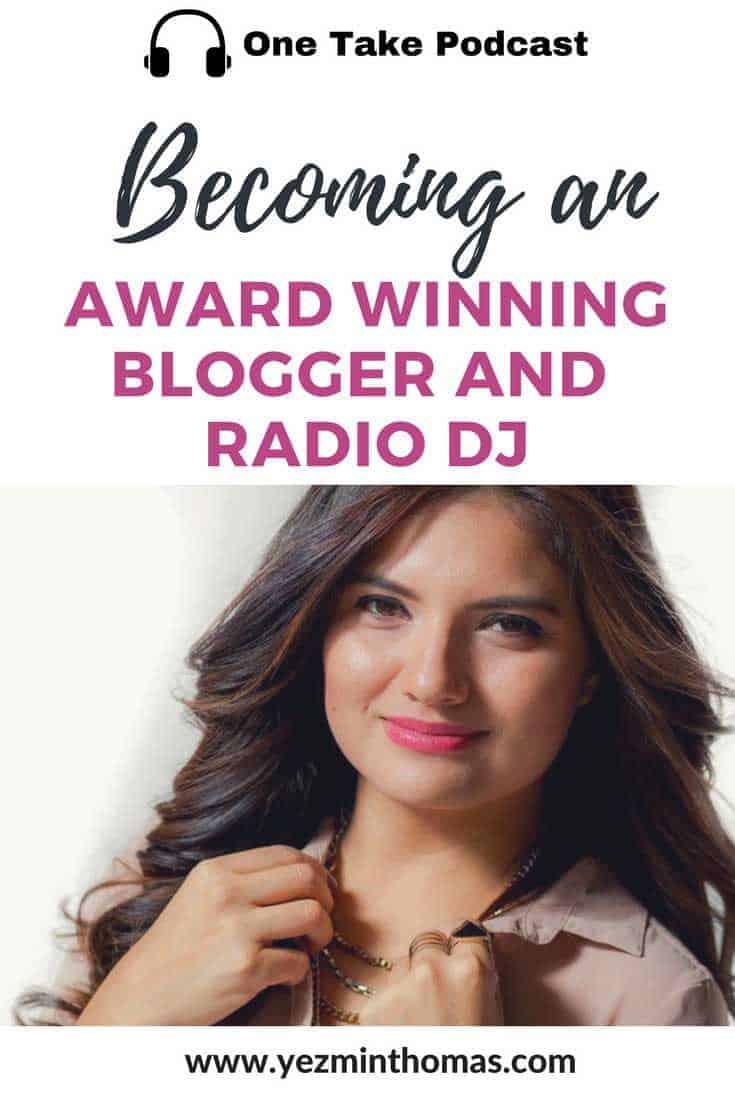 becoming an award winning blogger and radio dj ana cruz