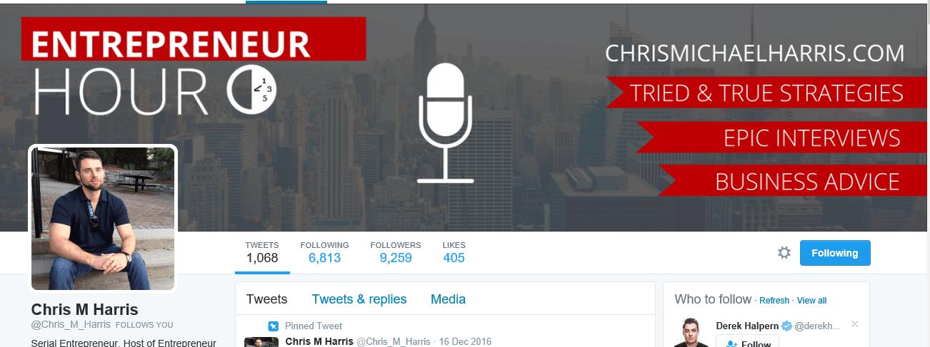 Serial entrepreneur and podcast host of Entrepreneur Hour