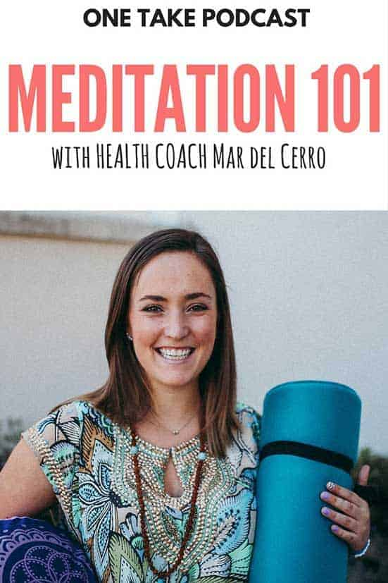 Mar del Cerro Meditation 101 pin