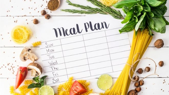 Having a plan for your weekly meals will save you a lot of money and allow you to make healthier choices.