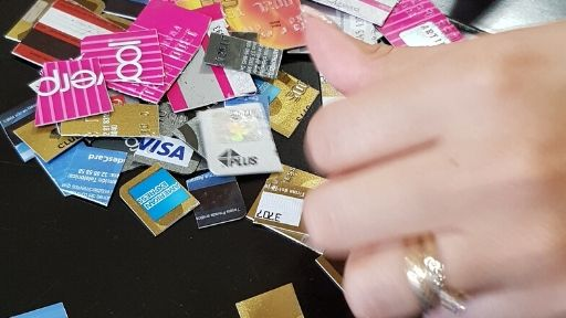 Until you change your thinking and thoughts about credit cards, you won't be able to get out of debt.