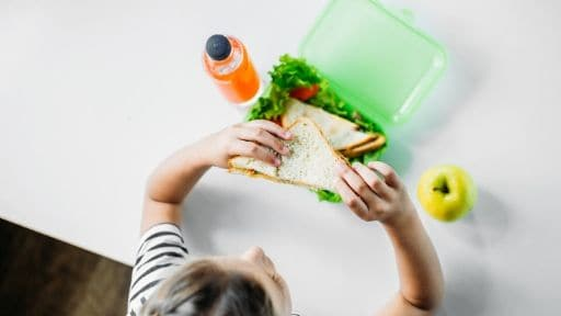 ADOPT THE GREAT HABIT OF PACKING YOUR LUNCH AT HOME AND AVOID EATING OUT REGULARLY.