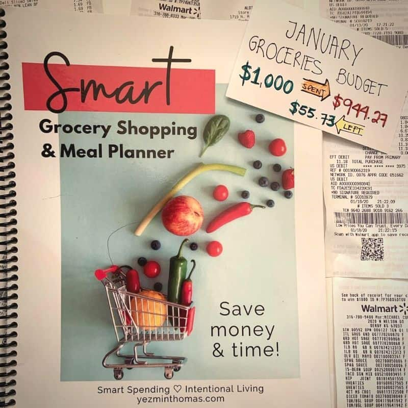 smart grocery shopping and meal planner