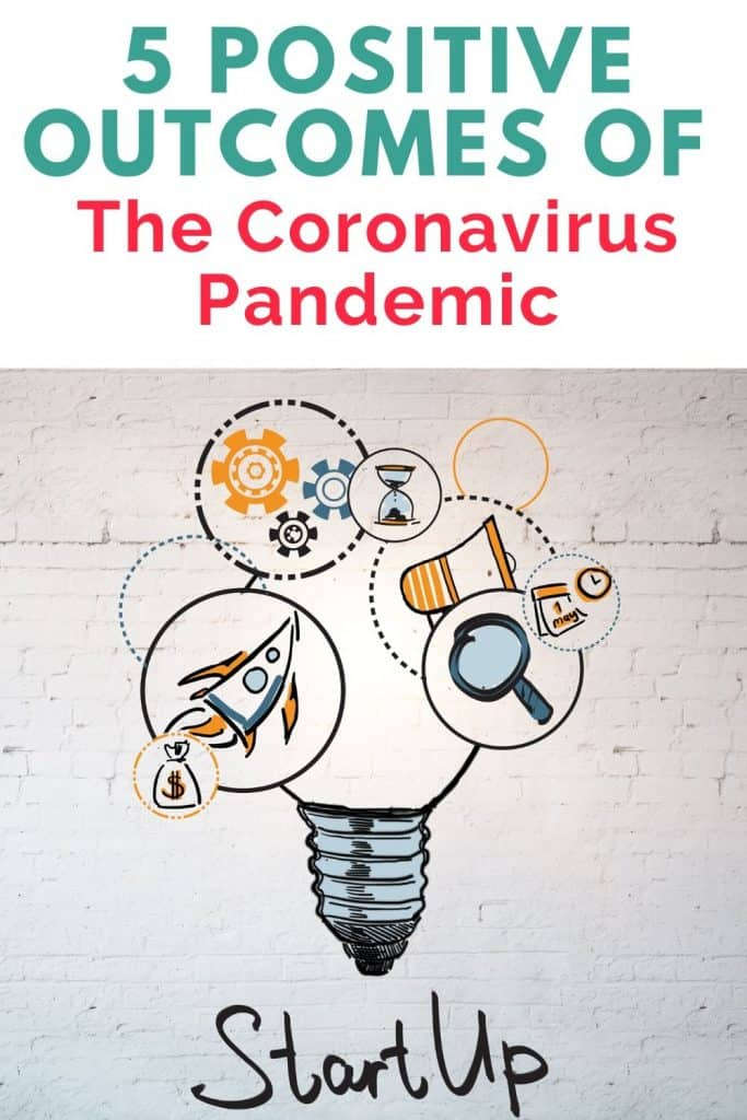 Amidst the crisis, there are positive outcomes of the coronavirus pandemic. Being aware of these will help us to better prepare for the next crisis.