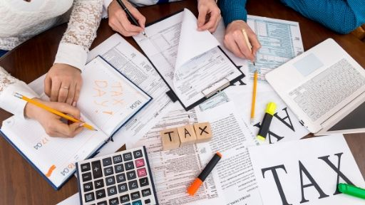 Some taxpayers can apply for an extension to file their taxes.