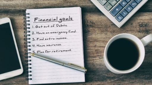 PART OF YOUR FINANCIAL PLAN INCLUDES KEEPING YOUR FINANCIAL GOALS IN WRITTING, OTHERWISE THEY WILL BECOME ONLY WISHES.