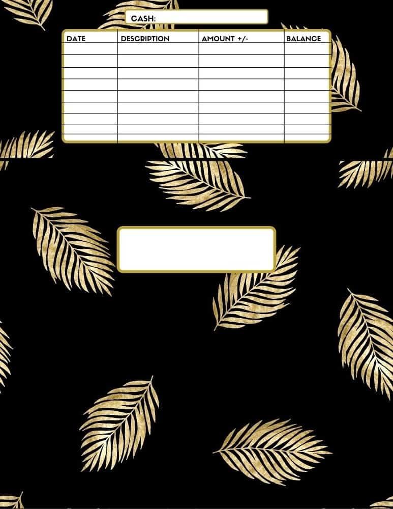 Cash Envelope Syste Gold Edition