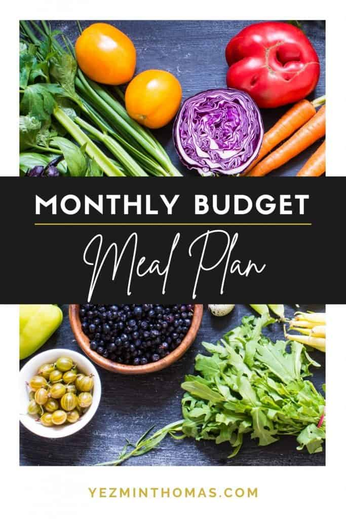 Our monthly budget meal plan has allowed us to save a ton of money on groceries. Get started with our free 7-day meal plan under $100!