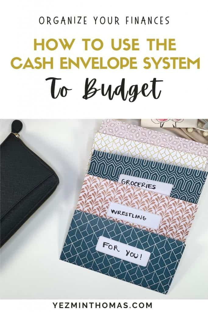 The Cash Envelope System is the most effective way to stop overspending and stick to your budget. Cash envelopes are fun and easy to manage.