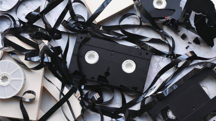 CONSIDER HAVING VIDEO TAPES DIGITIZED TO FREE UP SPACE AND DECLUTTER YOUR LIFE