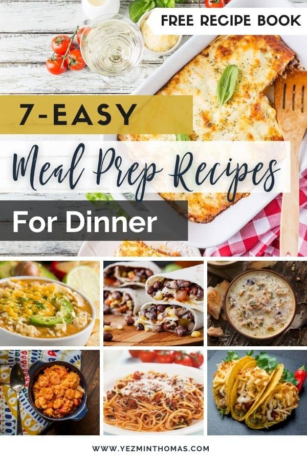 DOWNLOAD OUR FREE RECIPE E-BOOK WITH DELICIOUS MEAL PREP RECIPES FOR YOU!